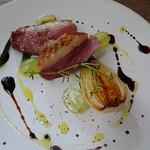 85056966 - ランチのメイン ハンガリー産鴨肉のグリル