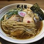 三麺流 武者麺 - ストレート中太麺