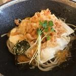 85061333 - ランチの桜海老湯葉蕎麦