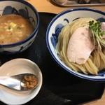 たけもと - 鶏と魚介のつけ麺 大