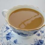 ソラトカフェ - ミルク入れました