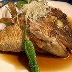 七伍屋 - 真鯛の兜煮