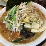 椿ラーメンショップ - 野菜たっぷりラーメン