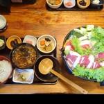 85064995 - 鹿鍋定食
