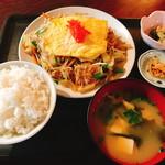 よね屋 - ニラもやし炒め(600円)
