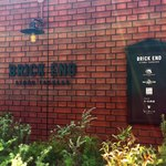 ザ グレートバーガー スタンド - ブリックエンドの入り口