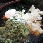 名代 富士そば - 肉そば¥470+春菊天¥120