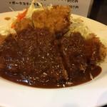 とんかつひろ喜 - 特選ロースとんかつ定食(¥800)