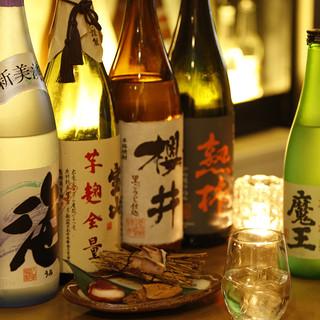 ◆~日本酒マイスター監修~生意気な・・飲み放題付きコース◆