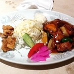 Koushienhanten - 酢豚定食