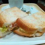 85070260 - トーストパンのサンドです