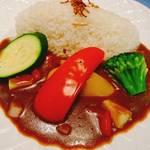 旬粋カレー工房 - 料理写真:野菜カレー