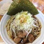 麺処なかがわ - 辛口ラーメン(辛さ調整OK)¥850