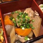 四川料理 CHINA5° - 鶏と野菜の黒酢煮