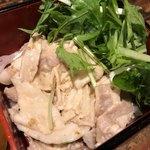 四川料理 CHINA5° - 冷製豚しゃぶ