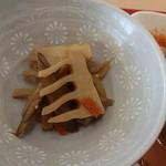 レストランはわい - 『大山豚の生姜焼き定食(税込み980円)』