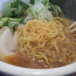 麺の房 たけ田 - 麺アップ