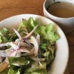 T.G.HEARTH - サラダとスープ