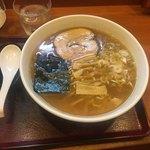 めん和正 - 中華麺中盛750円1.5玉