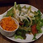 ミーテラス - dinnersetのサラダ
