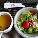手づくりのレストラン 花の木 - カニカレーランチ 中辛 1