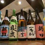 ダイニングバー和 - 黒糖焼酎も豊富です。