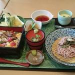 楽庵 - 料理写真:春チラシセット(税込1,598円)