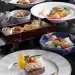 シェラトン都ホテル大阪 - プレミアムプラン 和洋折衷料理イメージ