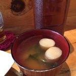 CAFE TARO - お麩の味噌汁
