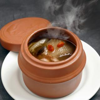 壺蒸しスープ