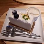 ひのでや - レアチーズケーキ