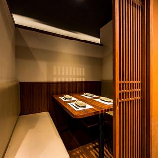 錦糸町から徒歩1分!《全席完全個室》和モダン個室空間