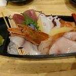 恵美須商店 - 恵美須の黒船盛り(590円)