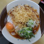 グルめん - たぬき(卵入り)