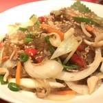 韓国家庭料理 杏 - 料理写真:チャプチェ 700yen