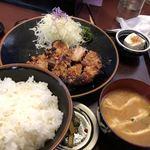 85099128 - 鶏味噌焼き定食