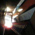 ロッブリーキッチン - 店は2階 急な階段 2階から!!