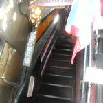 ロッブリーキッチン - 急な階段