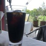 Caff'e Ponte ITALIANO - モーニングセットのアイスコーヒー