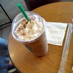 スターバックス・コーヒー - ドリンク写真:ダークモカチップフラペチーノ616円(ベンティ)