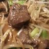 丸正タナハラ食品 - 料理写真:フワ(牛の肺)の炒め煮