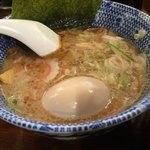 自家製麺つけ麺 紅葉 - 味玉つけ麺(中)