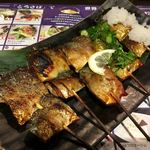 とろさば料理専門店 SABAR - お得な鯖の串焼き5種盛り