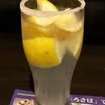 とろさば料理専門店 SABAR - 最強(塩)レモンサワー