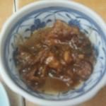 さかな亭 - お通しはツナの味噌煮