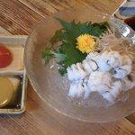 海人 - ハモ湯引き