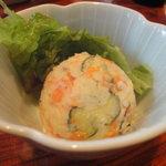 朝日屋  - ポテトサラダ
