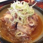 朝日屋  - 肉豆腐