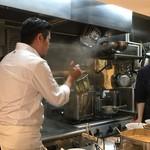 Japanese Soba Noodles 蔦 - 大西店主は不定期ながら現場復帰しました。
