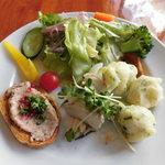 PIZZERIA IMOLA - 前菜+サラダ